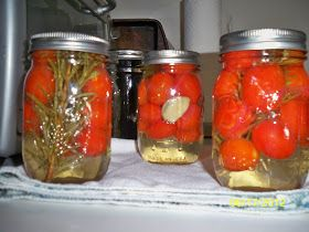 Mrs. Walsh @ Home: Pickled Grape Tomatoes