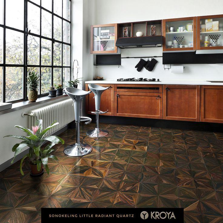 KROYA Sonokeling Little Radiant Quartz  http://www.kroyafloors.com/collections/design-parquet/sonokeling-little-radiant-quartz/