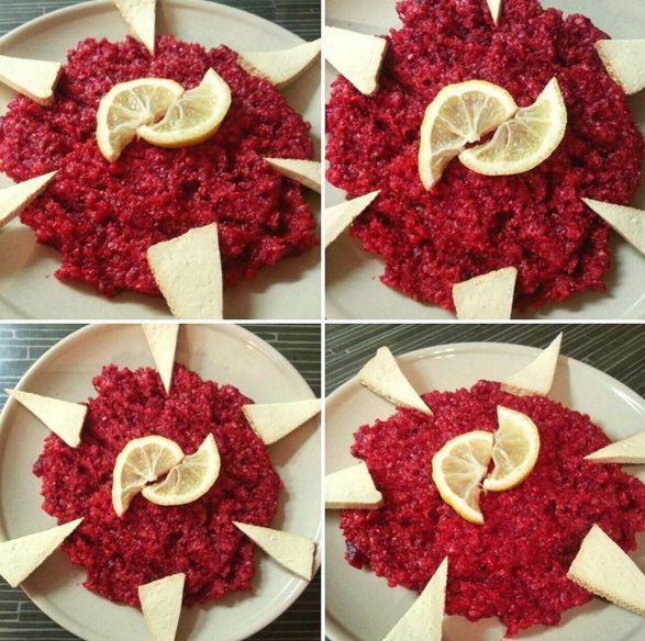 Pohankové rizoto s červenou řepou a tofu