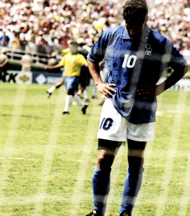 Baggio and the penalty kick in 94