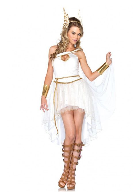 Aluguel de fantasia Deusa Hermes online na Encantada Fantasias. Esta e mais de 1000 fantasias em um só lugar, explore, inspire-se, alugue online e divirta-se!
