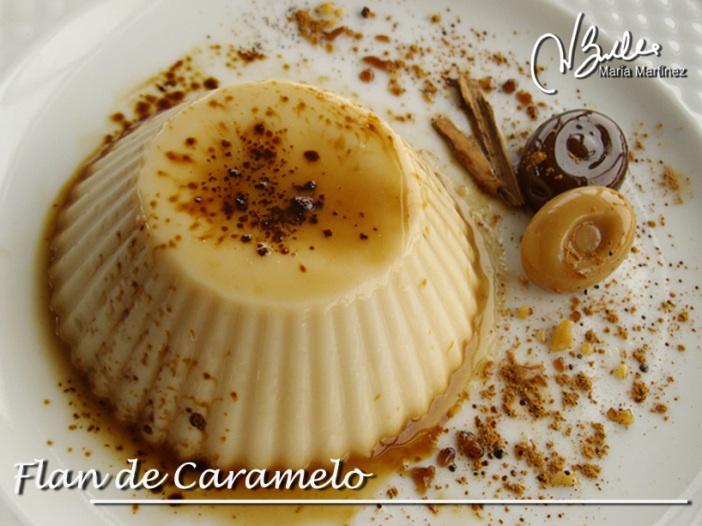 Recetas Dukan: Flan de Caramelo