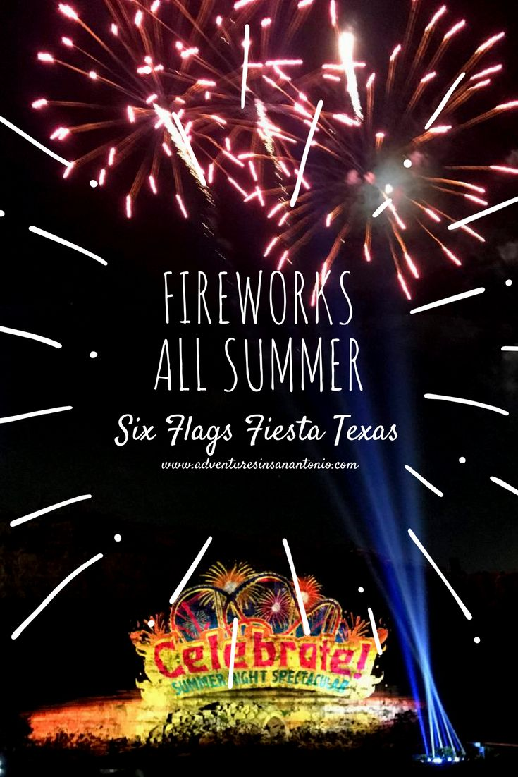All summer long I have been wanting to visit Six Flags Fiesta Texas at night. I had passed by this sign many times and wondered about the fireworks show. My family are a bunch of early risers. We a…