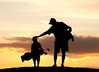 Golf...love this pic, makes me think of my boys! I can only hope they learn to love the game half as much as I love them!