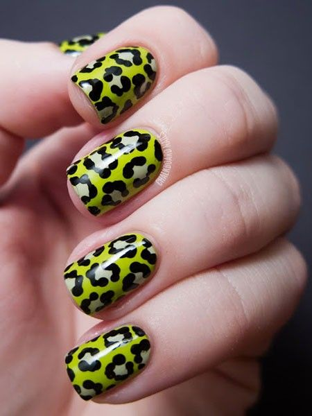 Leopard Print Nails: There are many techniques which you can use to get animal themed nail art. Here we are sharing 50 such amazing nail arts which are inspired by animals.