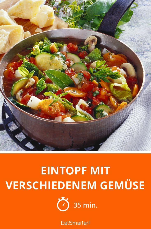 Eintopf mit verschiedenem Gemüse - smarter - Zeit: 35 Min. | eatsmarter.de