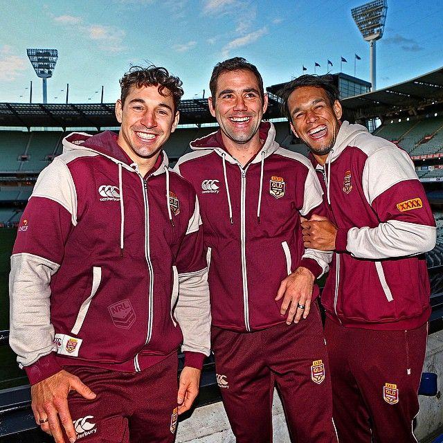The @melbstormrlc @qldmaroons trio #Origin #NRL