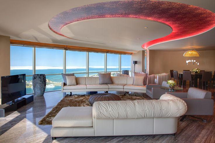 ART Rotana Royal Suite Living Room
