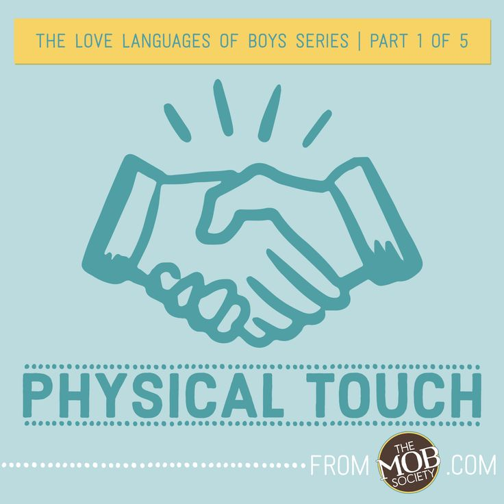 5 languages of love physical touch relationship
