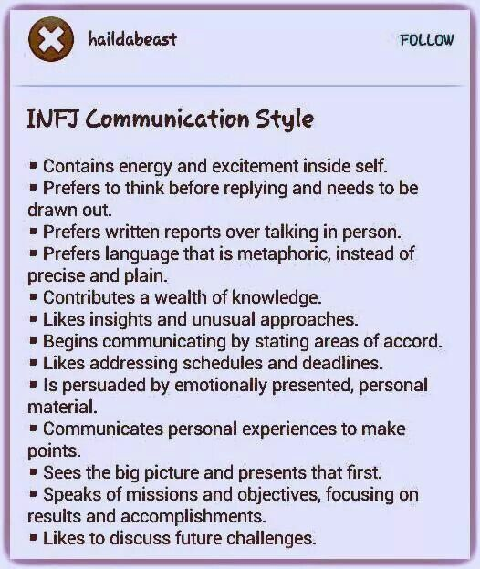 758 best INFJ Meyer's Briggs images on Pinterest ...