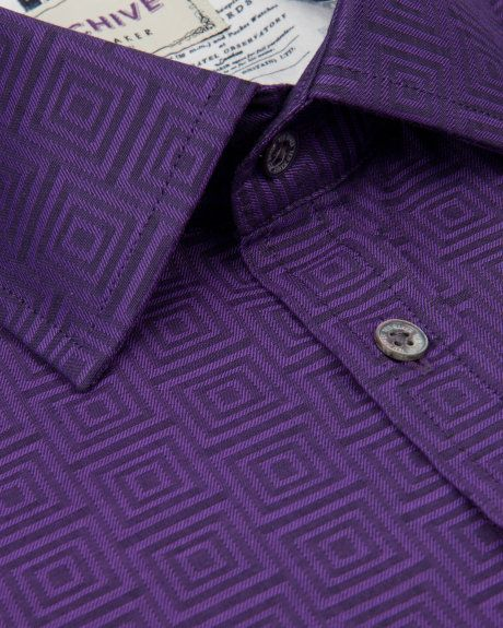 ENDURE Purple shirt - from Ted Baker
