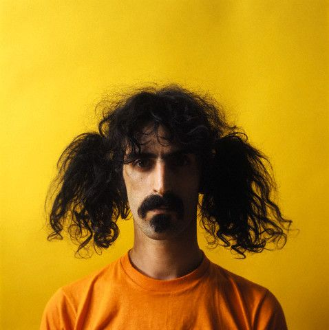 Frank Zappa. Now on iTunes. Still weird.