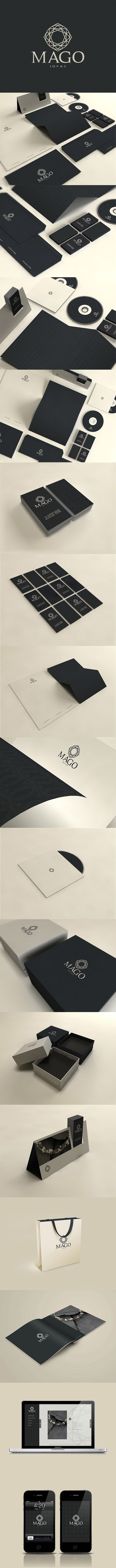 Branding Logo and Identity Mago by david espinosa