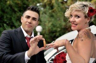 Silvia + Davide... e il Re del Rock and roll - Spose non convenzionali