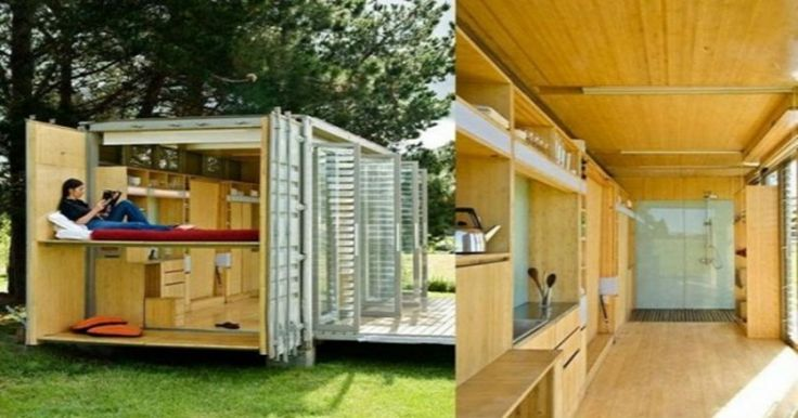 Τα 15 ωραιότερα σπίτια φτιαγμένα από κοντέινερ αξίας 2.000 ευρώ!
