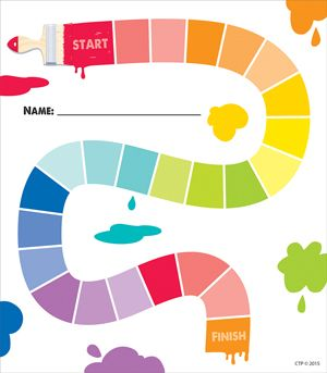 #creativeteachingpress #classroomwishlist  #classroomideas  Painted Palette Painted Path Student Incentive Chart
