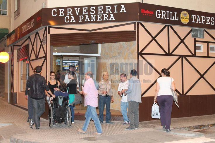 El triángulo » Cerveseria Ca Panera obre aquest dijous les portes al públic a Onda