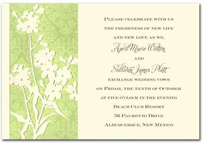 wording mature woman invitation