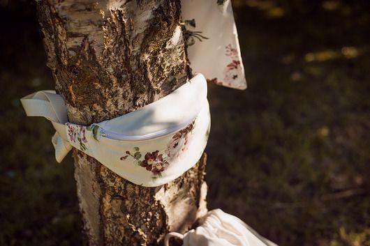 nerki - damskie-Bawełniana nerka w kwiaty Lootbag