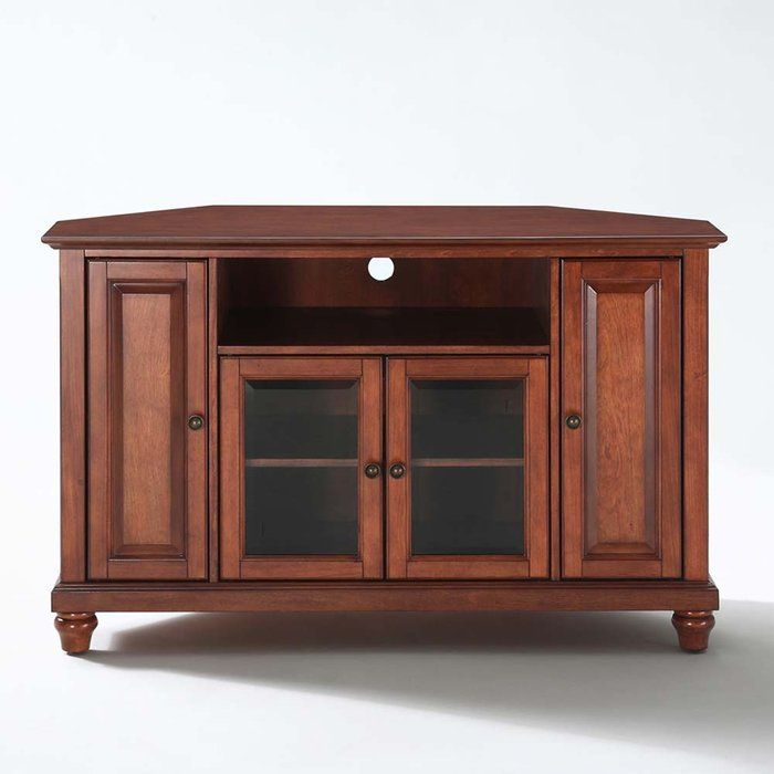 Corner tv stands lowes woodworking projects plans for Tv cabinet plans