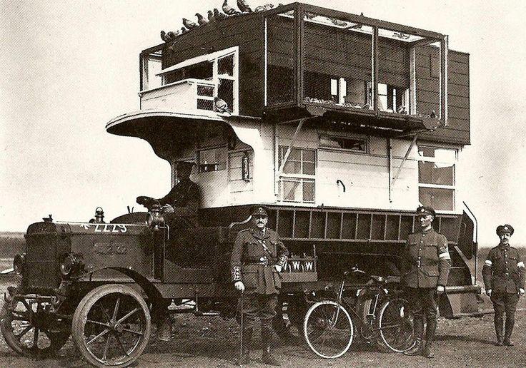 World War I - Bus Pigeon Loft