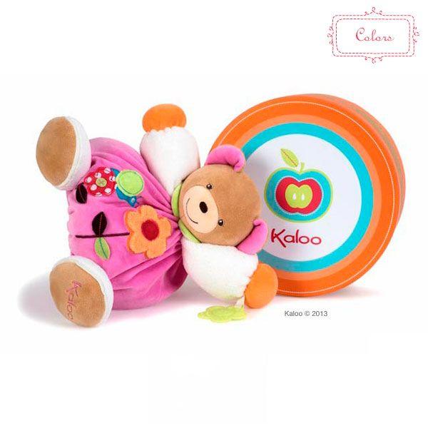 I tento růžový medvídek může být vaším novým členem rodiny. Všechny Kaloo hračky najdete http://goo.gl/iJR2O3