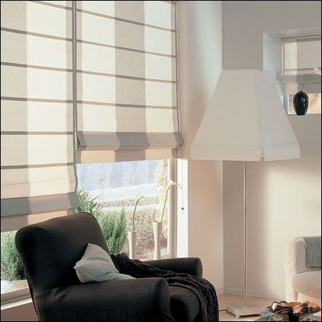 These roman blinds will really enhance my new conservatory. Get them from Apollo Blinds Belfast