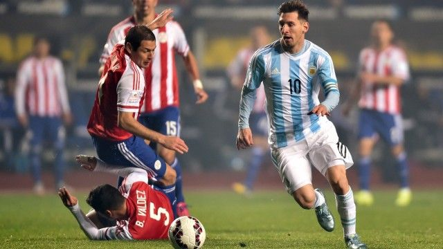 Argentina expecting a difficult final against Chile, says Lionel Messi – video