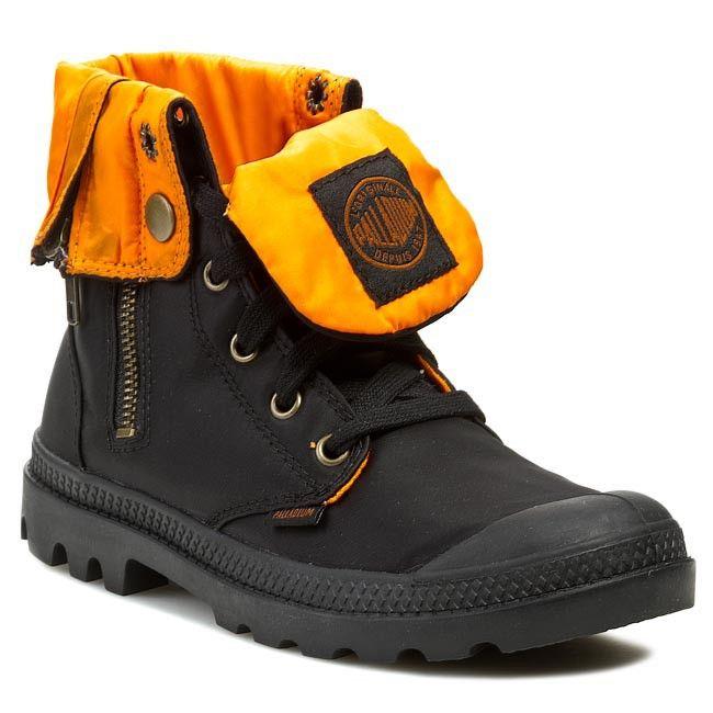 Trapery PALLADIUM - Baggy Zip Ma-1 93224015  Black/Orange