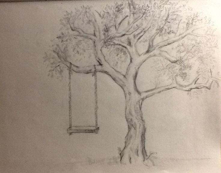 Tree Pencil Drawing By Polka-Dot-Elephant.deviantart.com On @DeviantArt