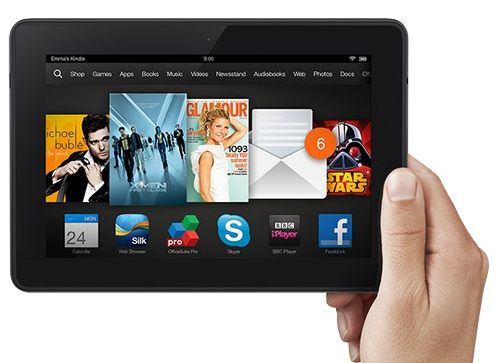 Amazon Kindle Fire HDX Running KitKat Update Android 4.4.4 & Snapdragon 805 Spotted