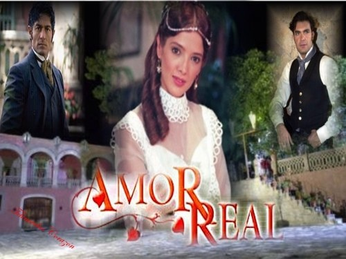 Amor real - Novelas pasion - enfemenino.com  althought spanish novelas seem to have different characters and themes, there is always a villian and an innocent person. nothing different than english soapoperas