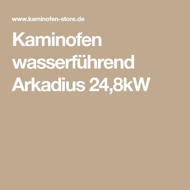 Kaminofen wasserführend Arkadius 24,8kW