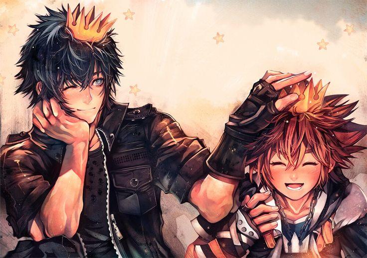 Noctis & Sora