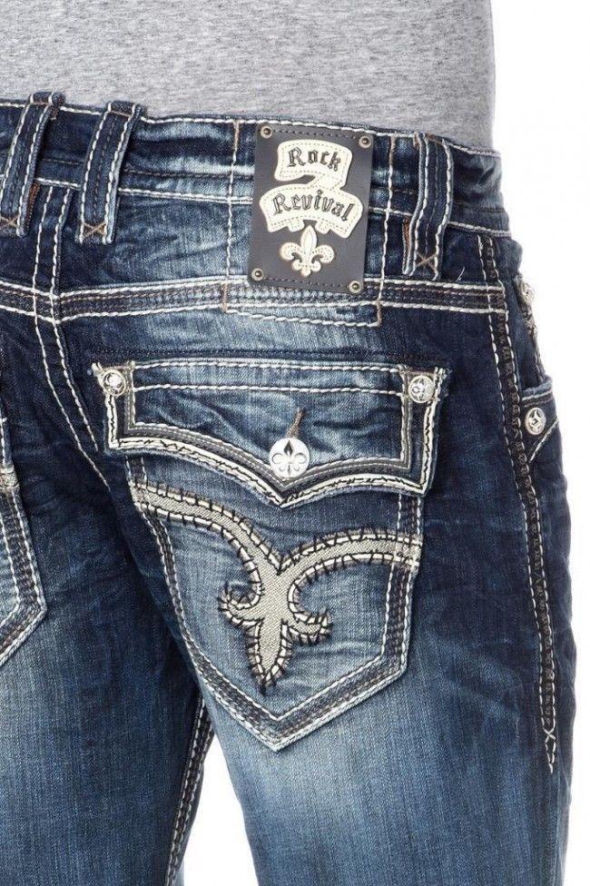 163 best images about Mens Rock Revival Jeans on Pinterest | Pants ...