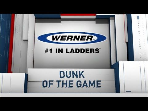Werner Ladder Dunk of the Game: Cyril Langevine