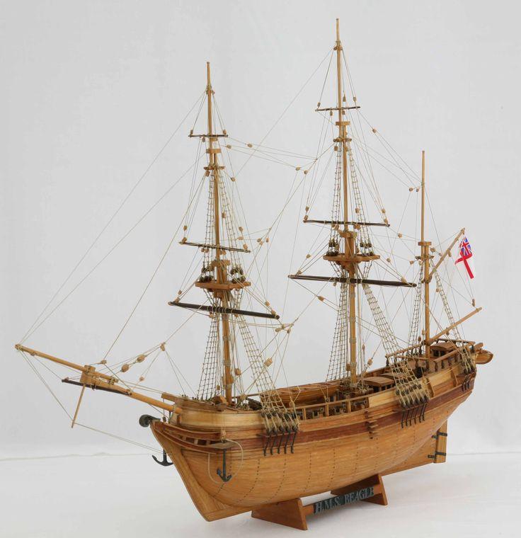 Ship model HMS Beagle of 1820 / Saved by Stephen Lok ~ START ~