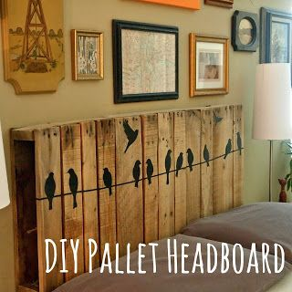 The ORIGINAL SOURCE of this headboard- not some stupid list with no references