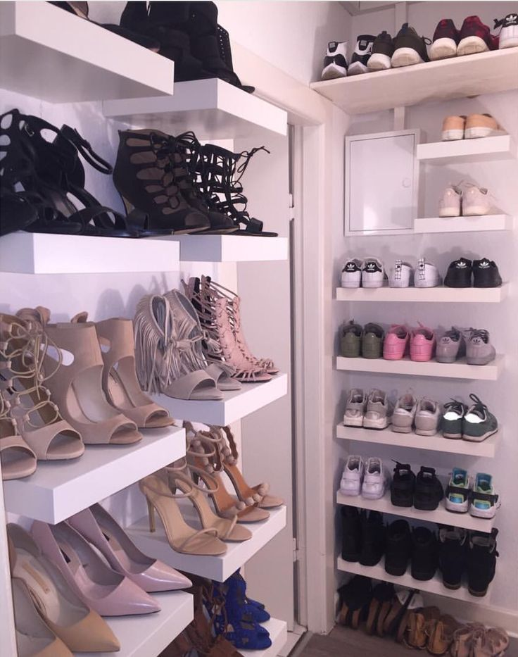 The absolute shoe wall