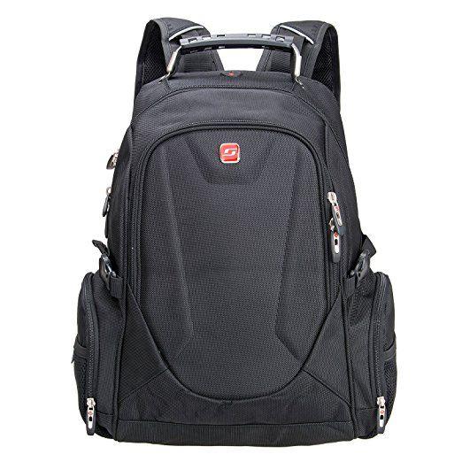 """-56%.  Winkee BB4349MBK Zaino per computer portatile fino a 15,6"""" Nero"""