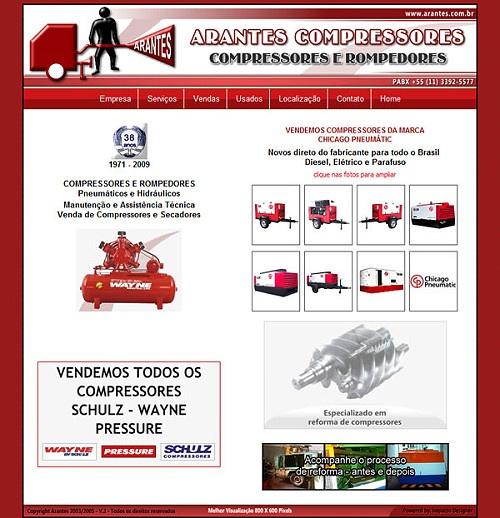 Site: Oficina Arantes