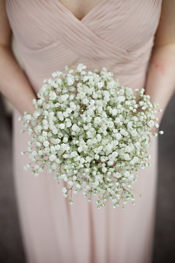 gypsophila wedding bouquet, image by http://www.milkbottlephotography.co.uk/