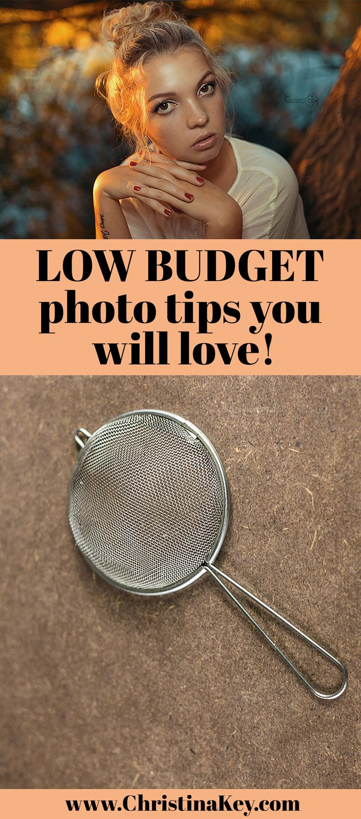 Photography Tips: Low Budget photo tips you will love! / I show you how you can create amazing pictures with simple household items - have a look now! / Blog Post by CHRISTINA KEY - the photography-, fashion-, lifestyle and food blog from Berlin, Germany