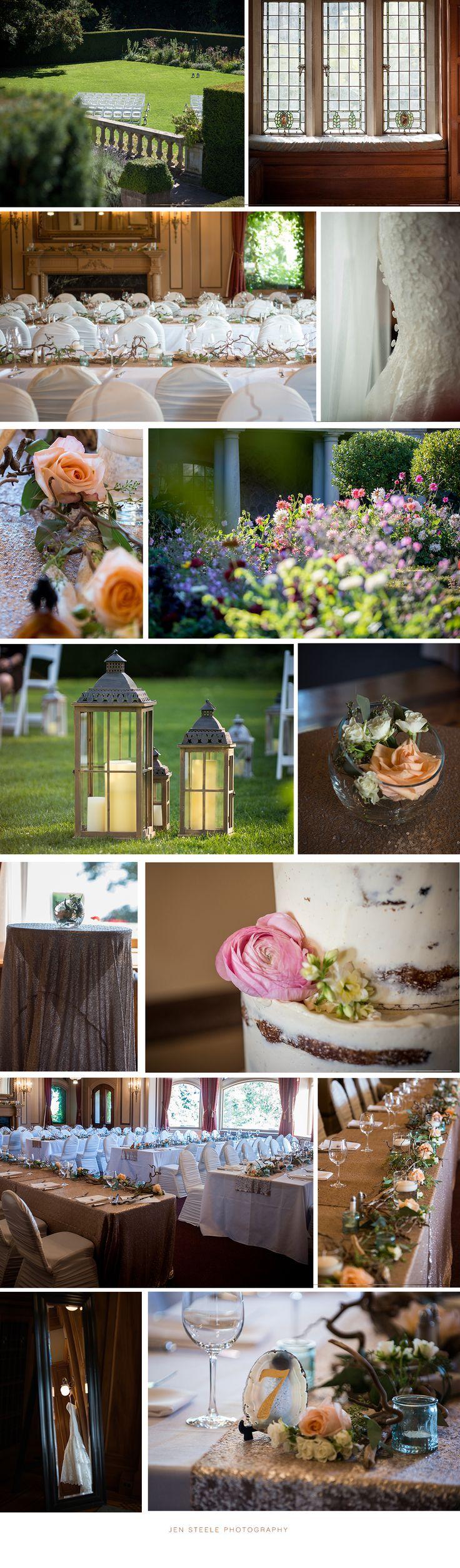 WEDDING AT HATLEY CASTLE | JEN STEELE