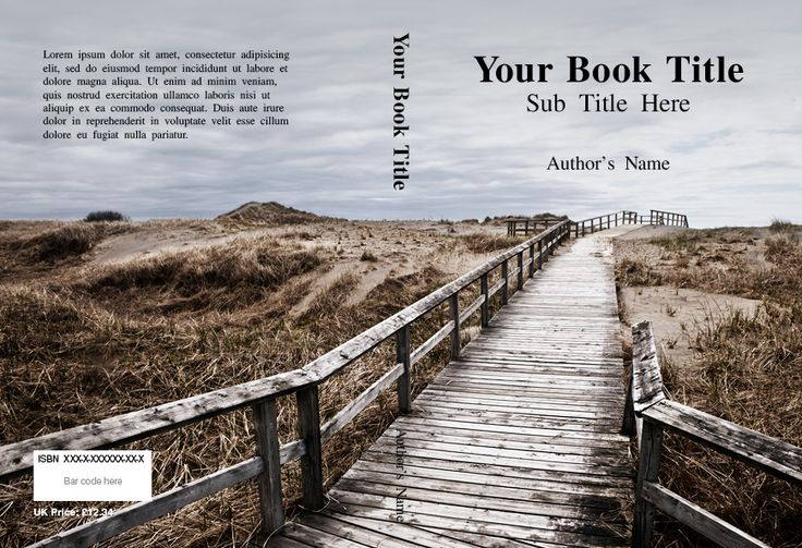 Book Printing Cover Design and Free Templates | Le mie vacanze ...