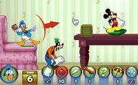 Mickey en vrienden in kussengevecht