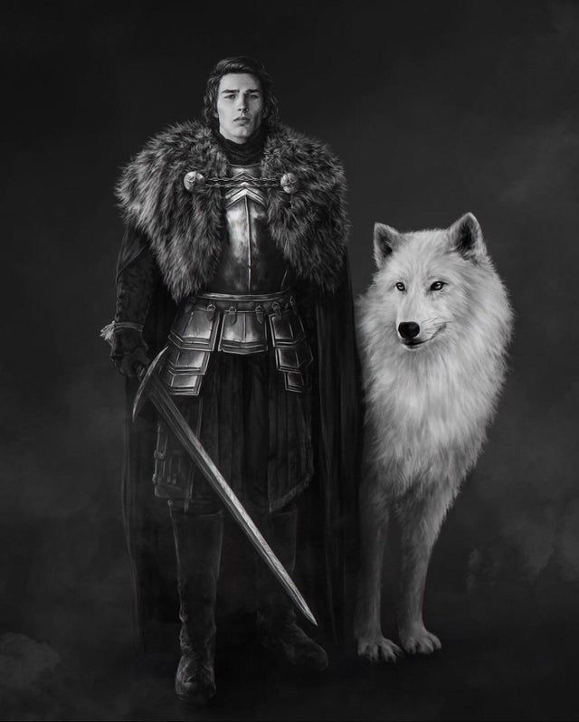 Reddit The Front Page Of The Internet A Song Of Ice And Fire Jon Snow Asoiaf Art