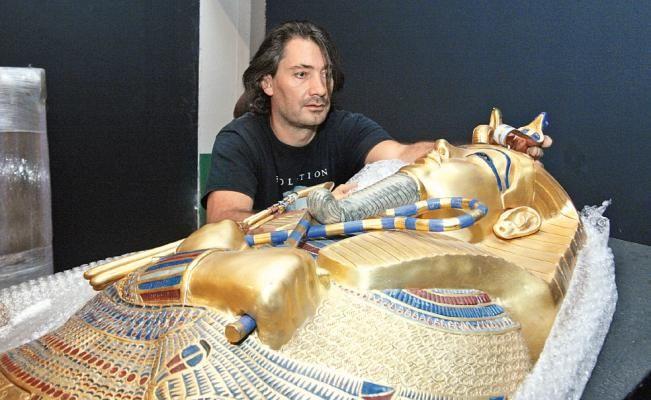 Secretos de muestra de Tutankamón, en Puebla | El Universal