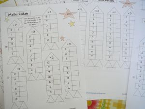 Great math worksheets.  Helps students learn number patterns.