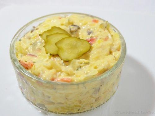 Salata de legume si ciuperci cu maioneza - imagine 1 mare